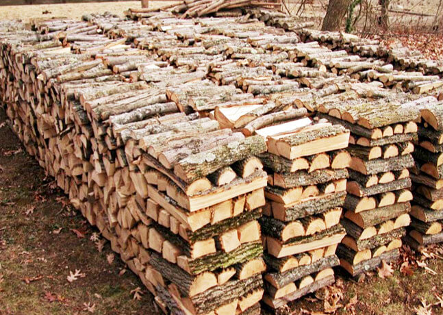 Firewood for Cordwood house cost